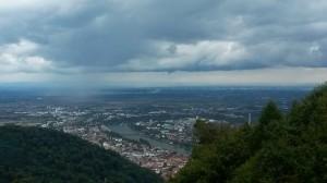 Aussicht auf die Rheinebene