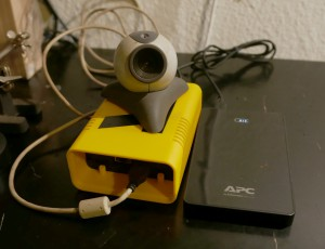Beispielkonfiguration mit angeschlossener USB-Kamera
