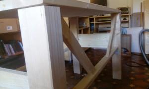 Diagonalstreben an der Rückseite